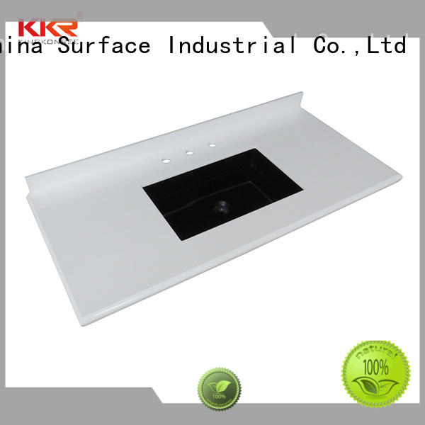KingKonree quality bathroom tops customized for hotel