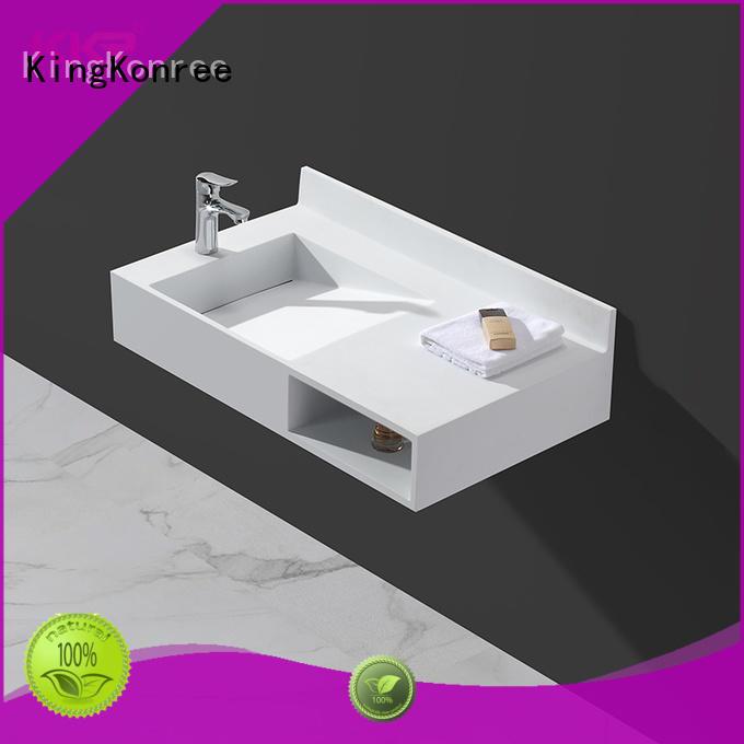 KingKonree fancy bathroom wall basin for bathroom