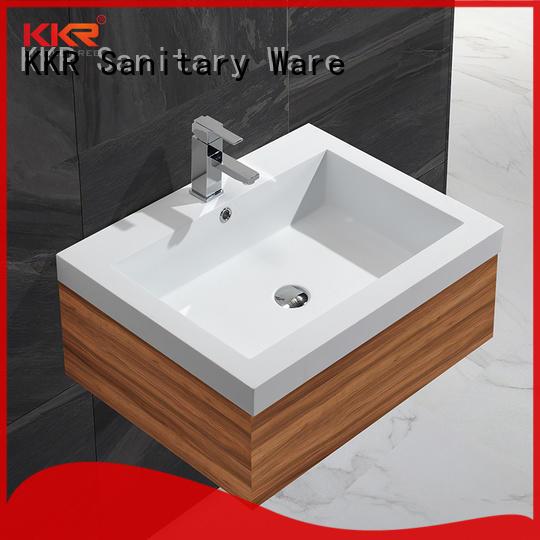 KingKonree cloakroom basin with cabine design for hotel