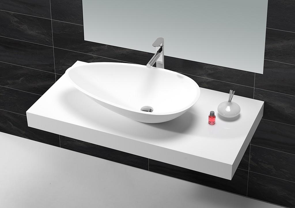 KingKonree durable bathroom countertops and sinks customized for room-1