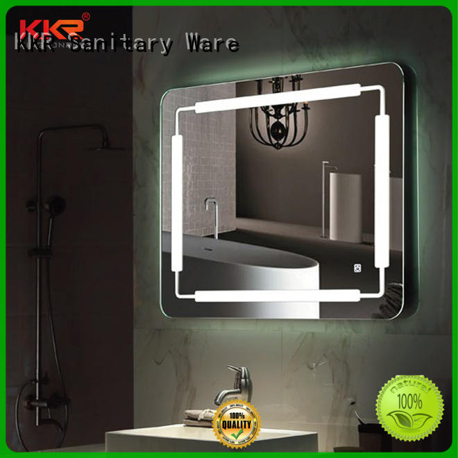 KingKonree wall-mounted funky mirrors high-end for toilet