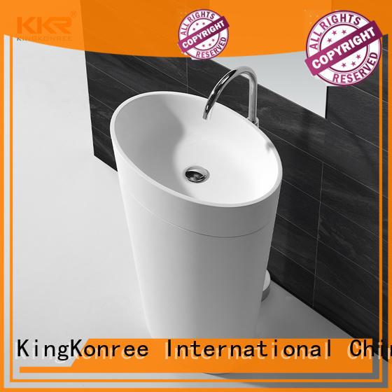high-quality solid surface basin best material KingKonree