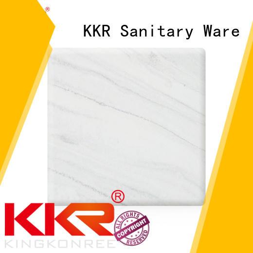 Quality KingKonree Brand sheets surface solid surface sheets