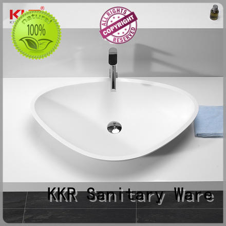 above counter basin round cheap sample for restaurant KingKonree