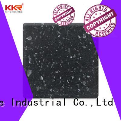 KingKonree types of solid surface countertops supplier for restaurant