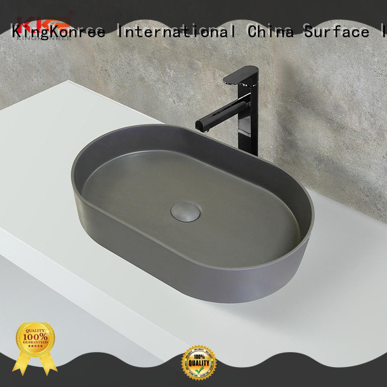 thermoforming small above counter basin cheap sample for restaurant