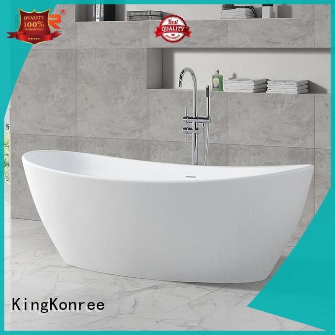 KingKonree stand alone soaking bathtubs at discount for hotel