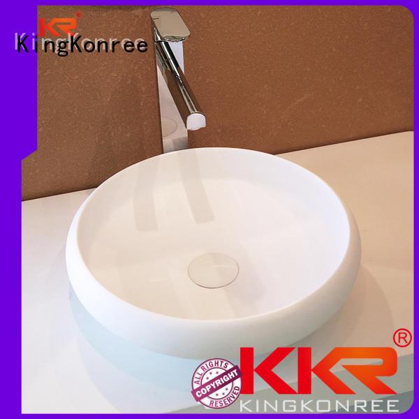 quality above counter basins white above KingKonree company