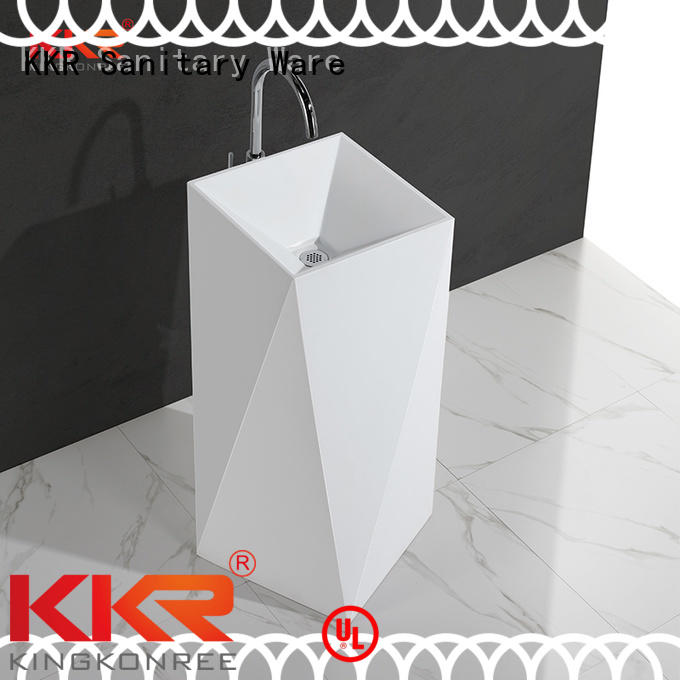 standing Custom diamond kkr freestanding basin KingKonree fancy