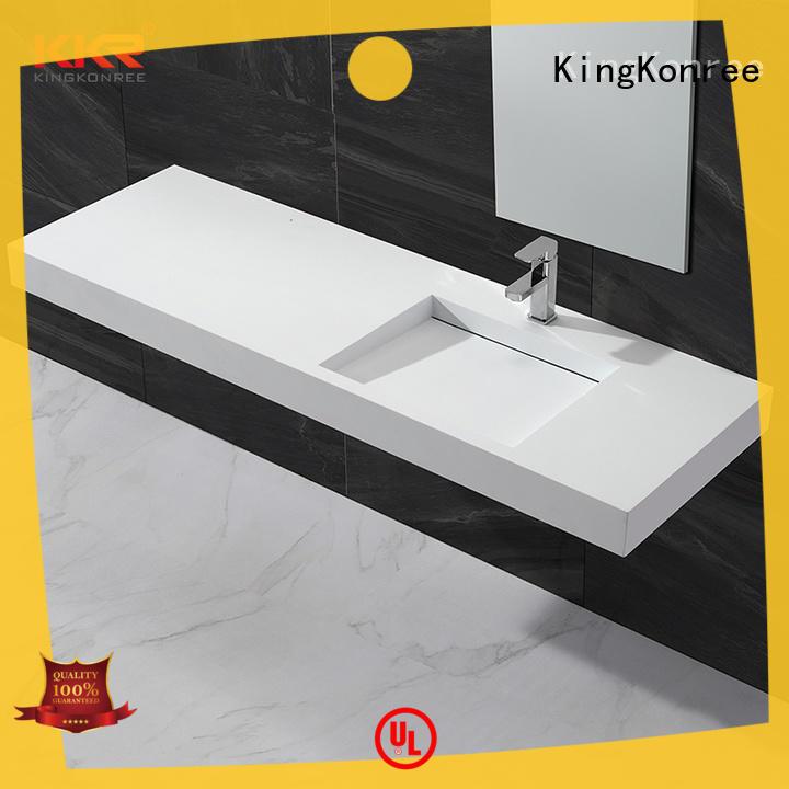 classic wall mounted wash basins design for bathroom