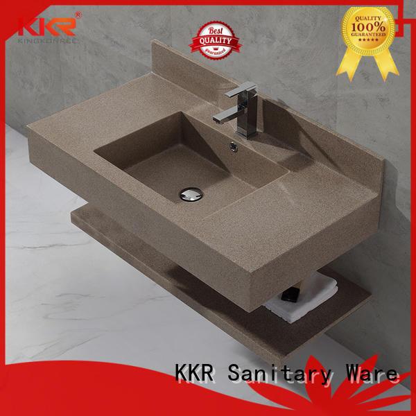 washing wall wash basin manufacturer for hotel KingKonree
