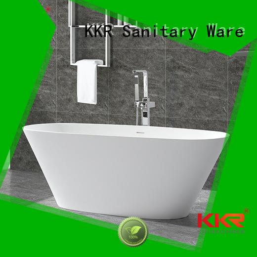 b005 free Solid Surface Freestanding Bathtub b006 KingKonree company