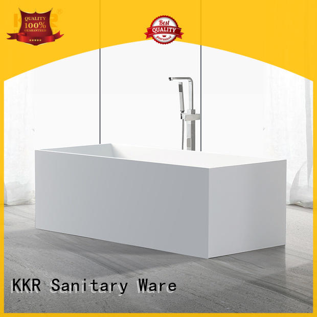 standard freestanding soaking bathtub OEM for shower room