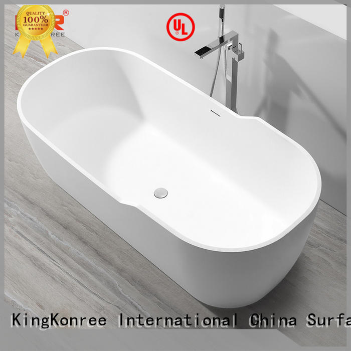 KingKonree high-quality most comfortable freestanding bathtubs OEM for hotel