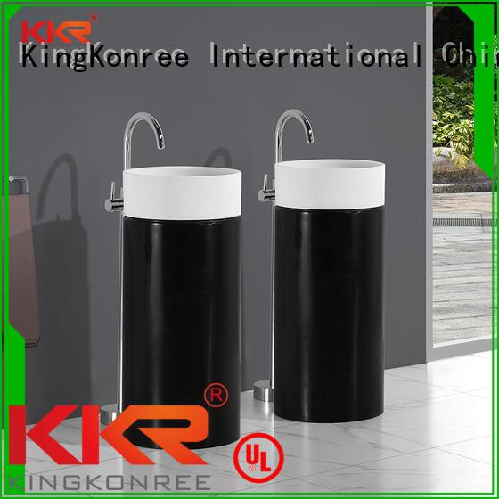 bathroom free standing basins acrylic freestanding basin KingKonree Brand