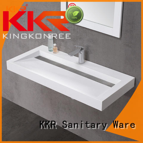 KingKonree free design solid surface basin on-sale