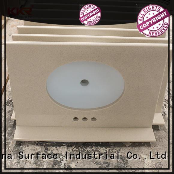 marble solid stone countertops manufacturer for motel KingKonree