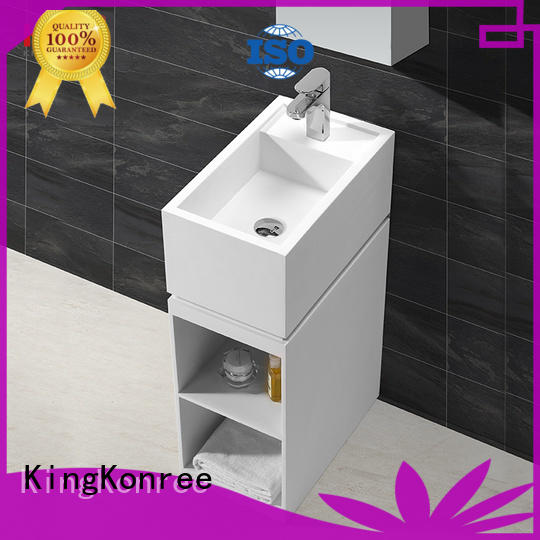 KingKonree best material solid surface basin highly-rated for bathroom