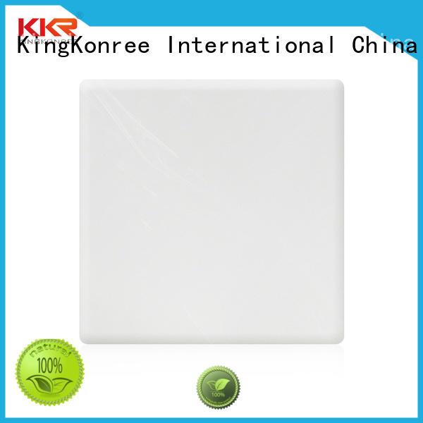 acrylic solid surface sheet manufacturer for room KingKonree