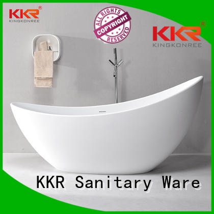 shelves renewable ware KingKonree Brand solid surface bathtub