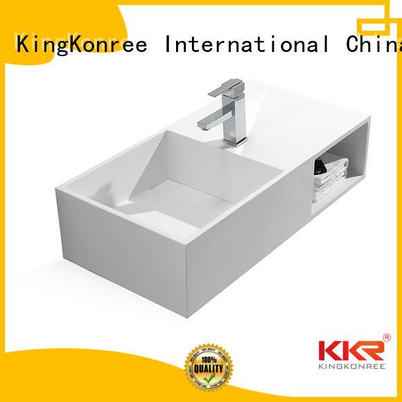 hanger Custom mount wall mounted wash basins wash KingKonree
