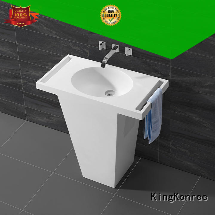KingKonree high-quality solid surface sink highly-rated