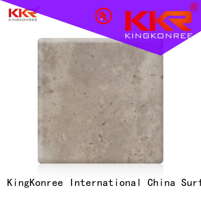 KingKonree newly solid surface sheets for sale manufacturer for room