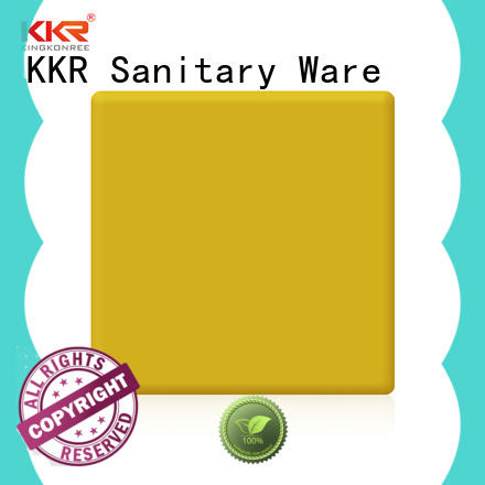 modified acrylic solid surface supplier for room KingKonree
