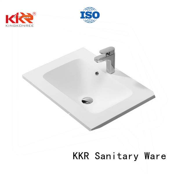 KingKonree Brand ware basin basin with cabinet price solid supplier