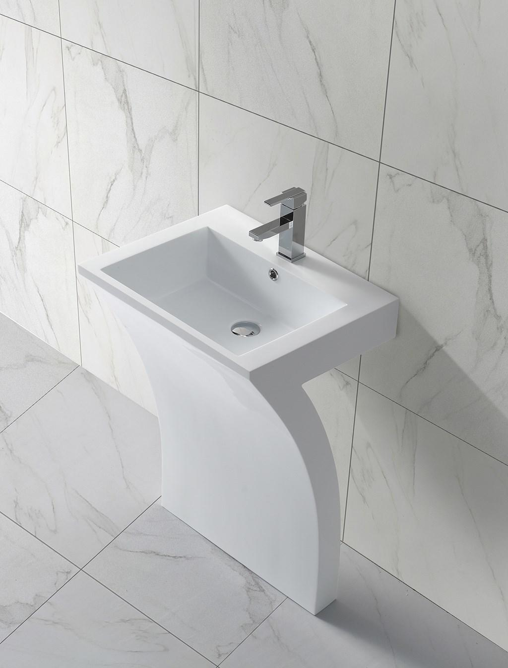 KingKonree freestanding bathroom basin manufacturer for bathroom-1