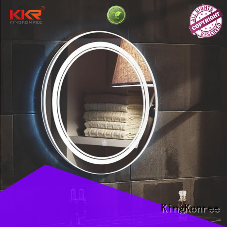 KingKonree sanitary ware modern mirror supplier for home