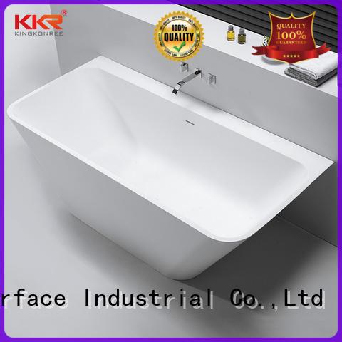 solid surface freestanding tubs custom for hotel KingKonree