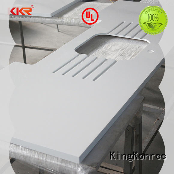 KingKonree quartz stone solid surface worktops supplier for hotel