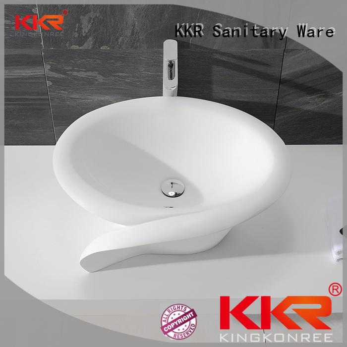 KingKonree standard bathroom vanity above counter basin for restaurant