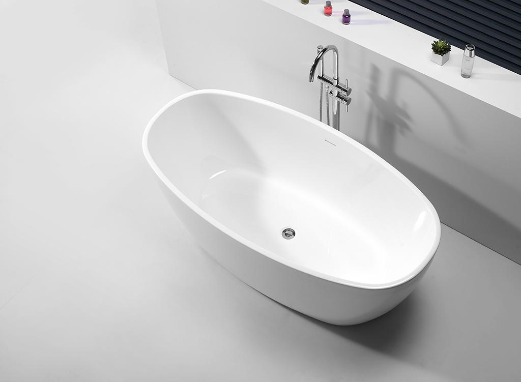 KingKonree high-end acrylic freestanding tub ODM-1