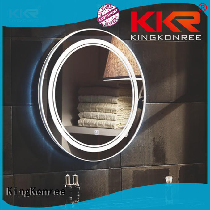 KingKonree sanitary ware custom bathroom mirrors manufacturer for bathroom