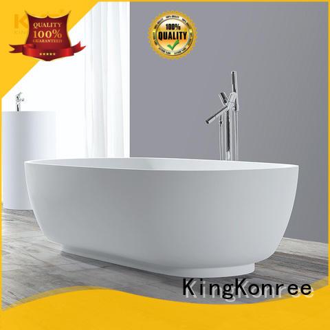 KingKonree black unique freestanding bathtubs ODM for family decoration