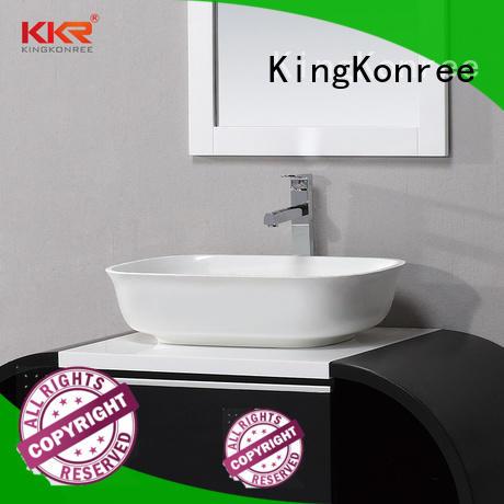 KingKonree hot-sale solid surface wash basin highly-rated
