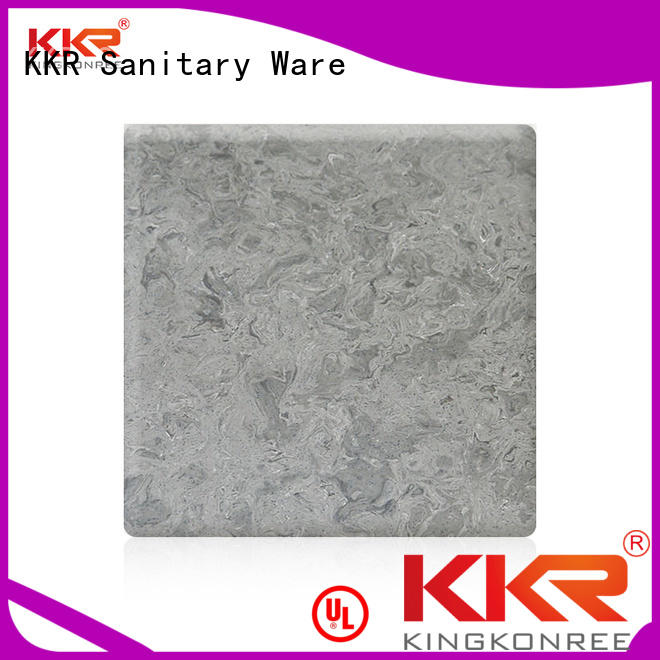 KingKonree Brand artificial pattern solid acrylic sheet marble supplier