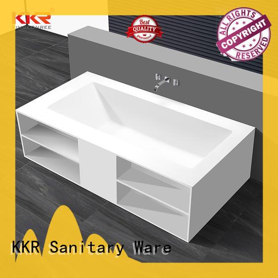 finish rectangular freestanding bathtub OEM for bathroom