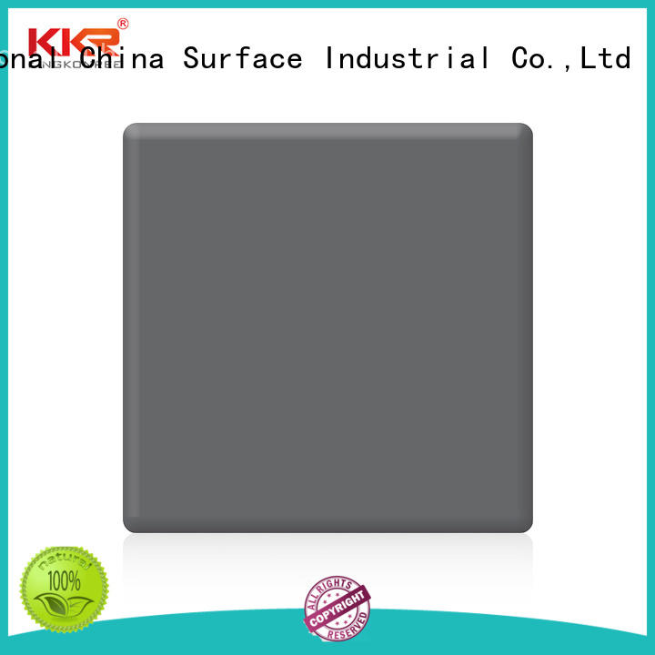 KingKonree small acrylic solid surface grey for home