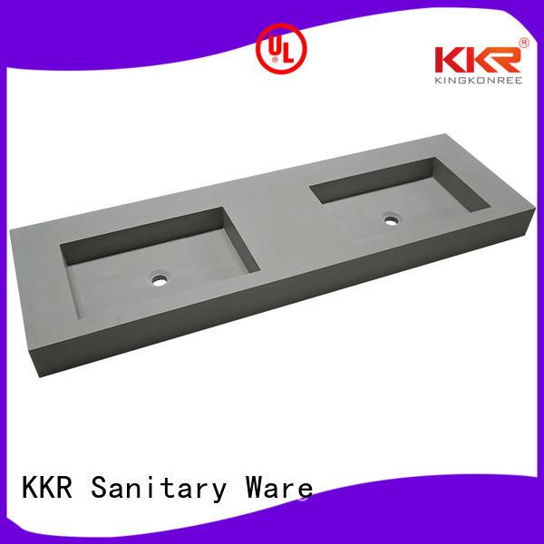 wall mounted bathroom basin ware Bulk Buy white KingKonree