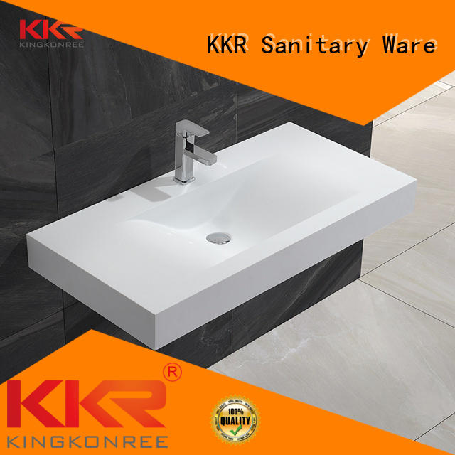 KingKonree Brand small mounted wall mounted wash basins manufacture