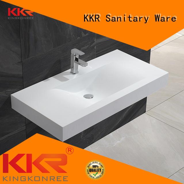KingKonree Brand small mounted wall mounted wash basins manufacture