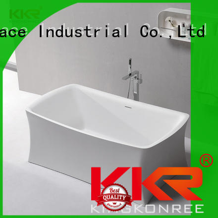 bath artificial stone bathtub kkrb064 for shower room KingKonree