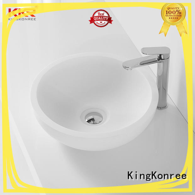 KingKonree above counter sink bowl cheap sample for room