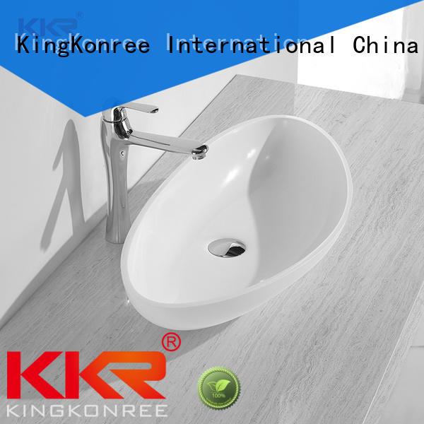 KingKonree bathroom countertops and sinks at discount for room