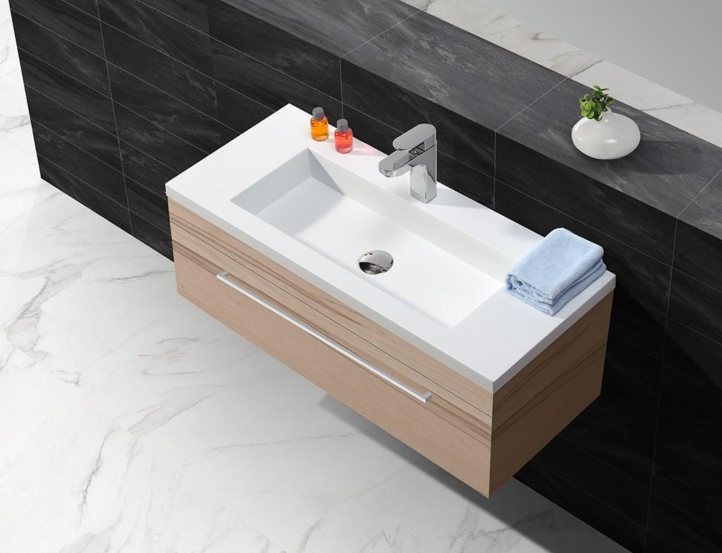 rectangle small wash basin with cabinet sinks for bathroom-1