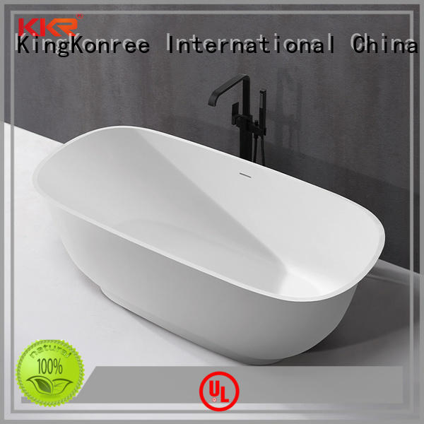 KingKonree high-end round freestanding bathtub OEM for bathroom