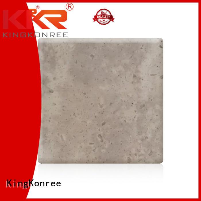 kkr solid acrylic sheet marble surface KingKonree Brand